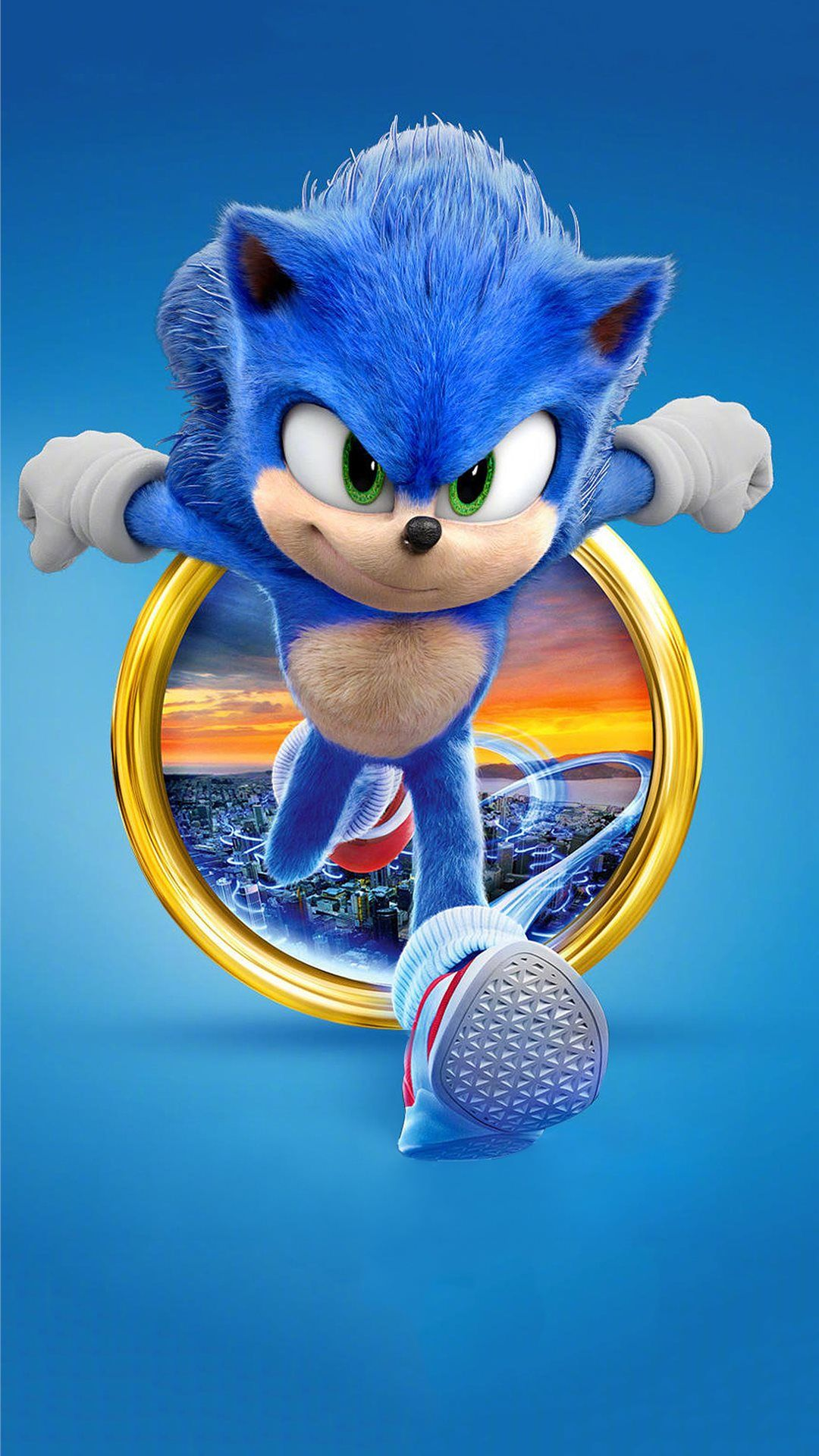 sonic the hedgehog 2020 4k iPhone 8 Wallpapers in 2020