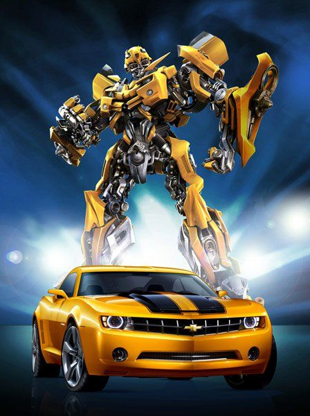 Director Michael Bay Has Confirmed That The Autobot Known As Bumblebee Will Be Changed To A 2014 Chevrolet Camaro Concept I Voiture Camaro Camaro Belle Voiture