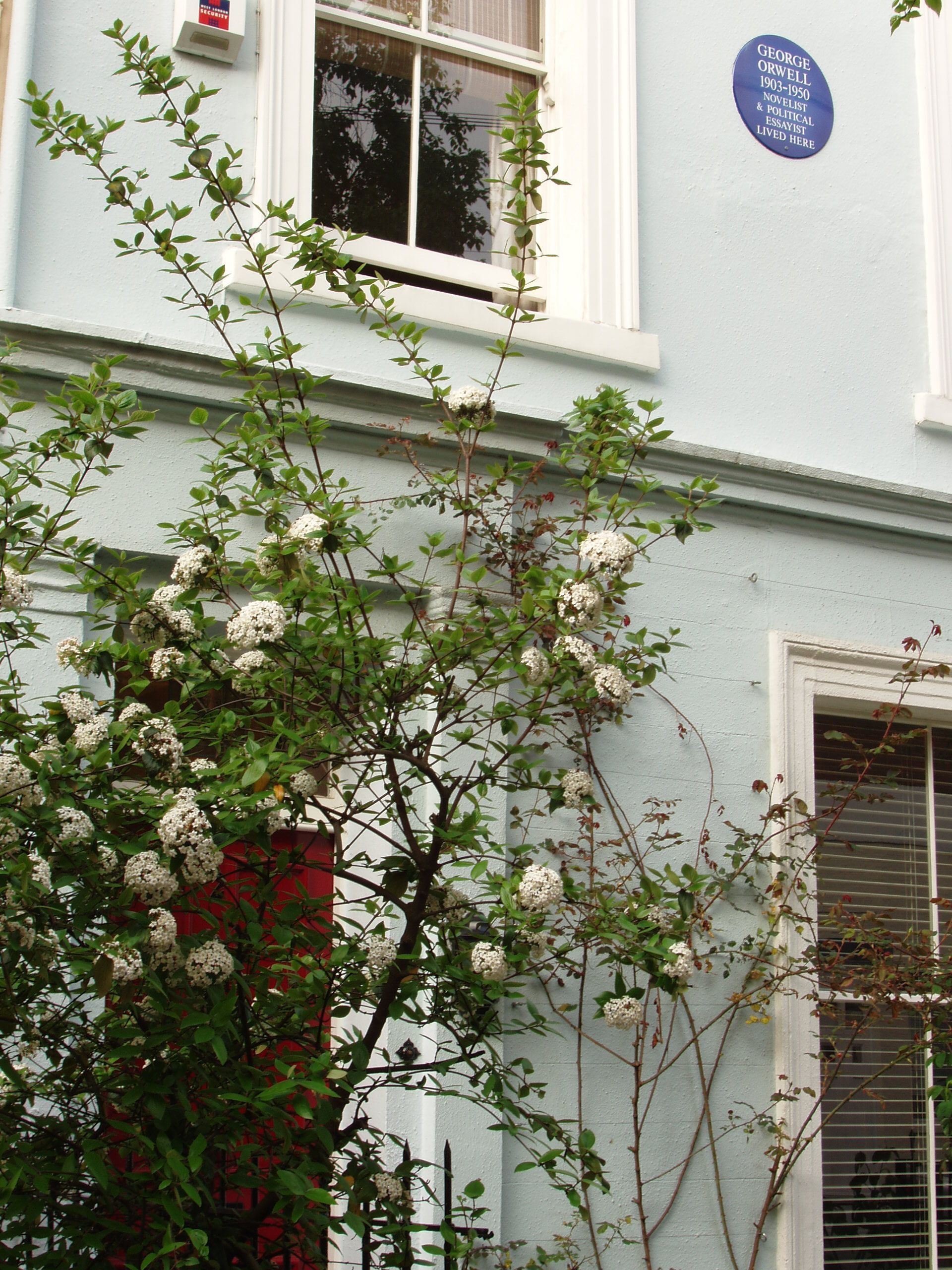 22 Portobello Road was the first London home where George Orwell lodged with Mrs Craig during