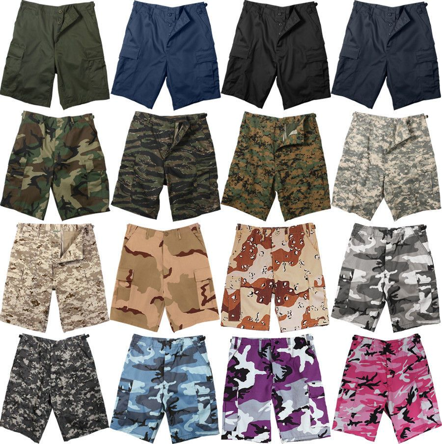 Rothco 65218 Sky Blue Camo BDU Shorts