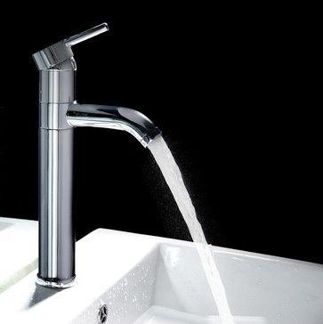 Single Handle Tall Bathroom Faucet contemporary bathroom faucets ...