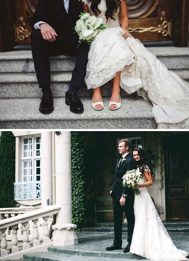 Maggie Bride Caitlin Wearing A Beautiful Lace Wedding Dress From Sottero For Her