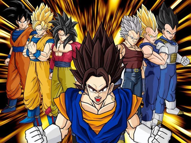 Wallpapers Hd Dragon Ball Z Gt Wallpapers Fondo De