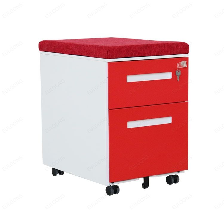 Office Furniture Staples Heavy Duty 3 Drawer Mobile Pedestal File Cabinet With Cushion