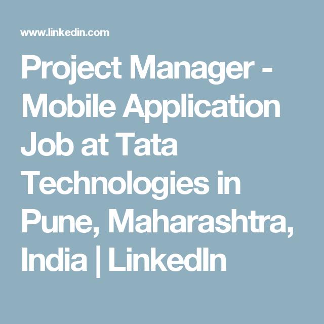mobile project manager job description
