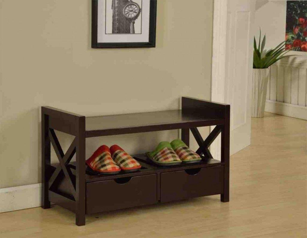 Cherry Wood Storage Bench Wood Storage Bench Furniture Entryway Bench Storage