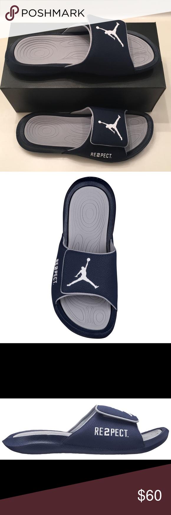 2313dcbe96a404 Jordan Men s Jumpman Slides Slippers After a pick-up basketball game ...