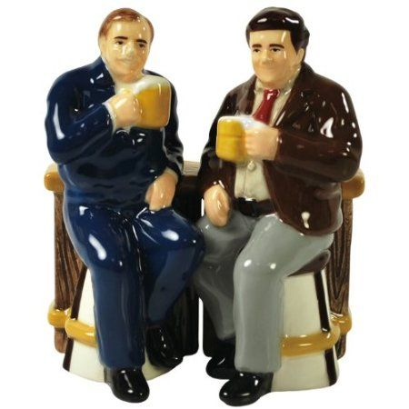 cliff and norm salt and pepper shakers