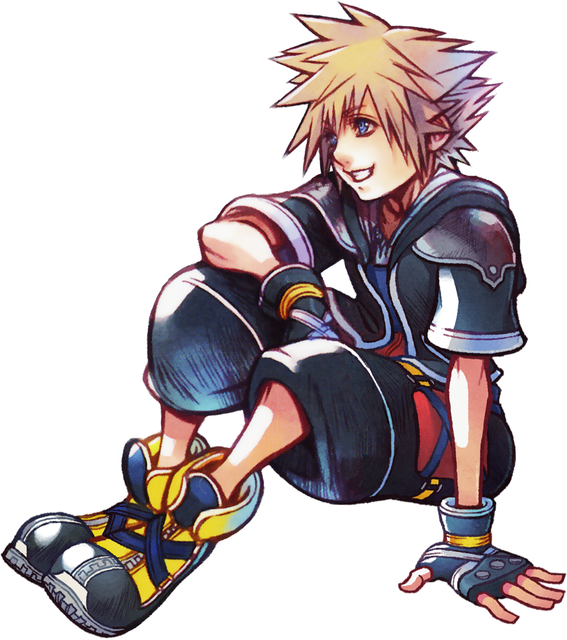 Sora Kingdom Hearts Image 745376: A Variety Of Renders From The Khx 2nd Anniversary. I