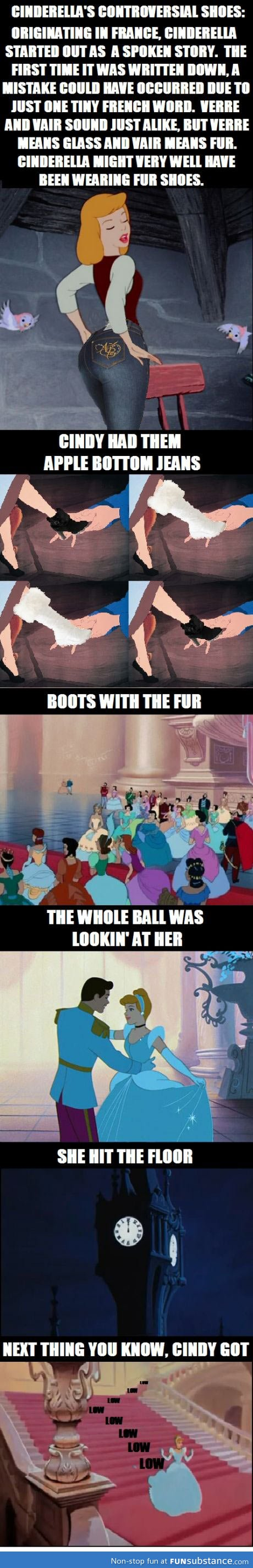 What if cinderella really had fur shoes? - FunSubstance