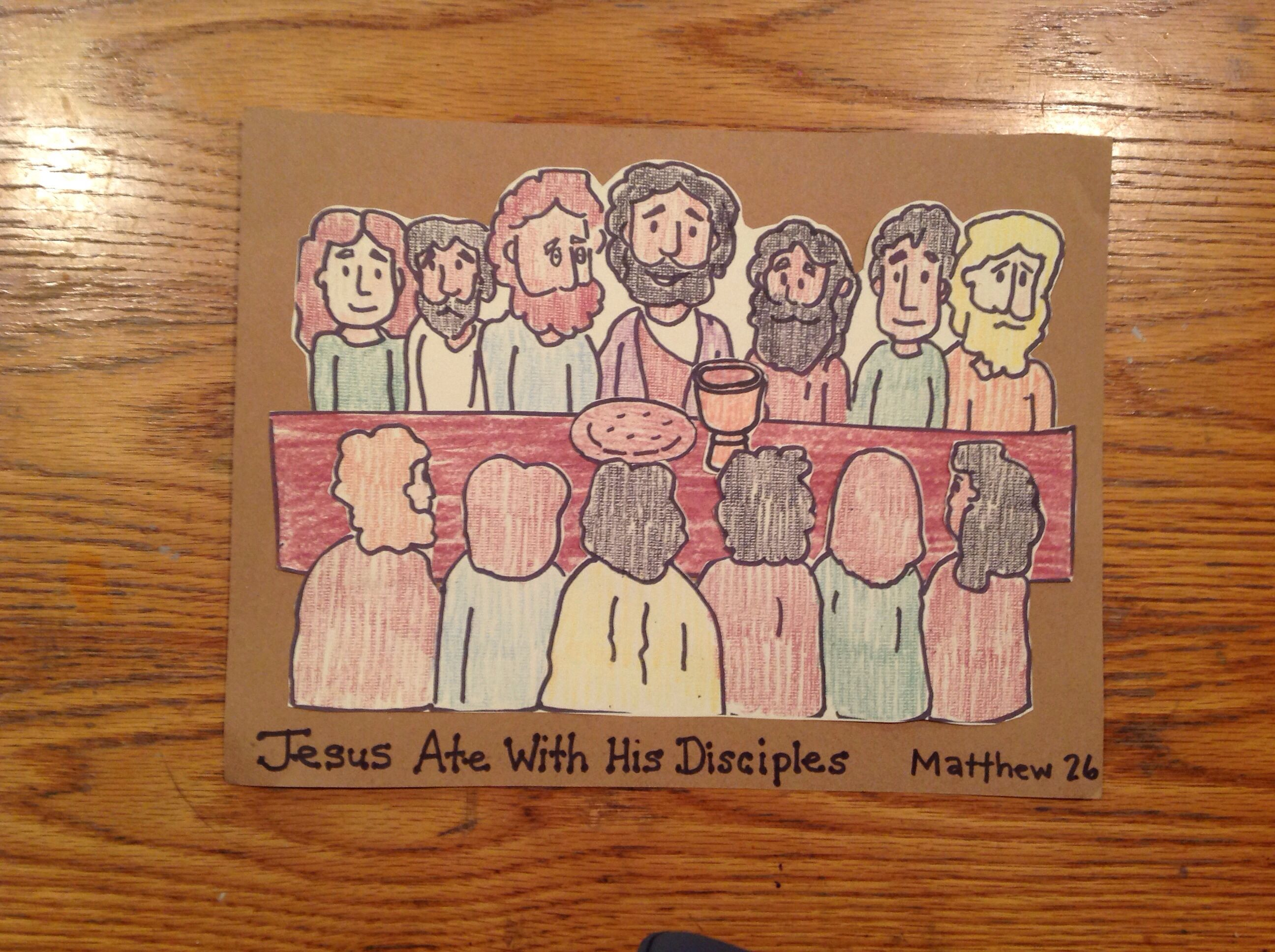50+ Last supper craft ideas for preschoolers ideas
