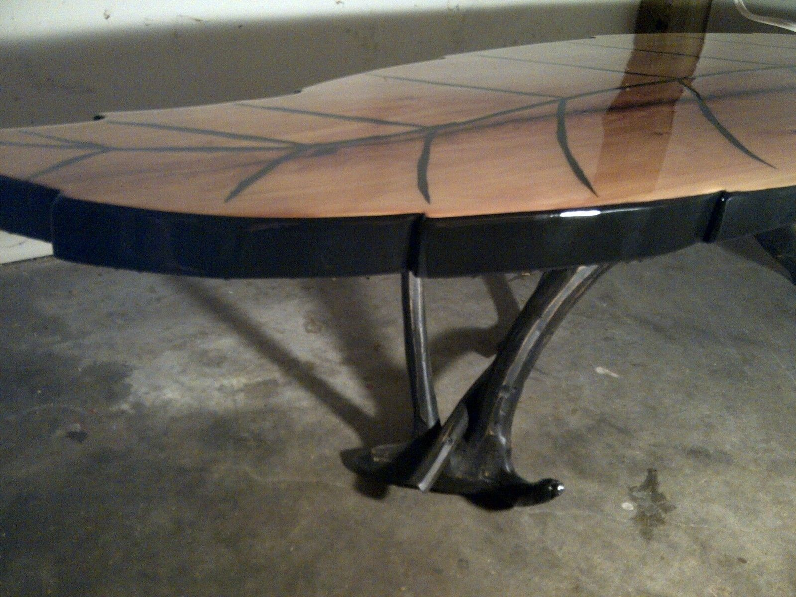 Leaf Shaped Coffee Table 2 Table Dining Table Coffee Table