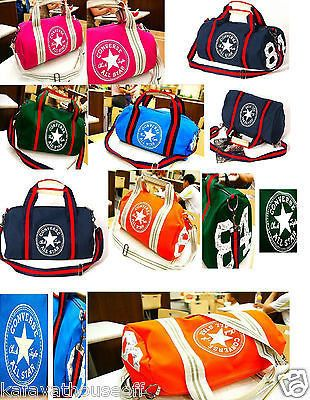 0a3778355761 Converse Bag Single Shoulder Bag Handbag Travel Canvas