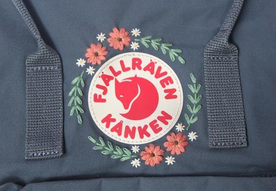 Embroidered Fjällräven Kånken Backpack (Classic Kånken)