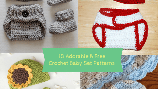 Photo of 10 Adorable & Free Crochet Baby Set Patterns – Cute & Cozy Crochet