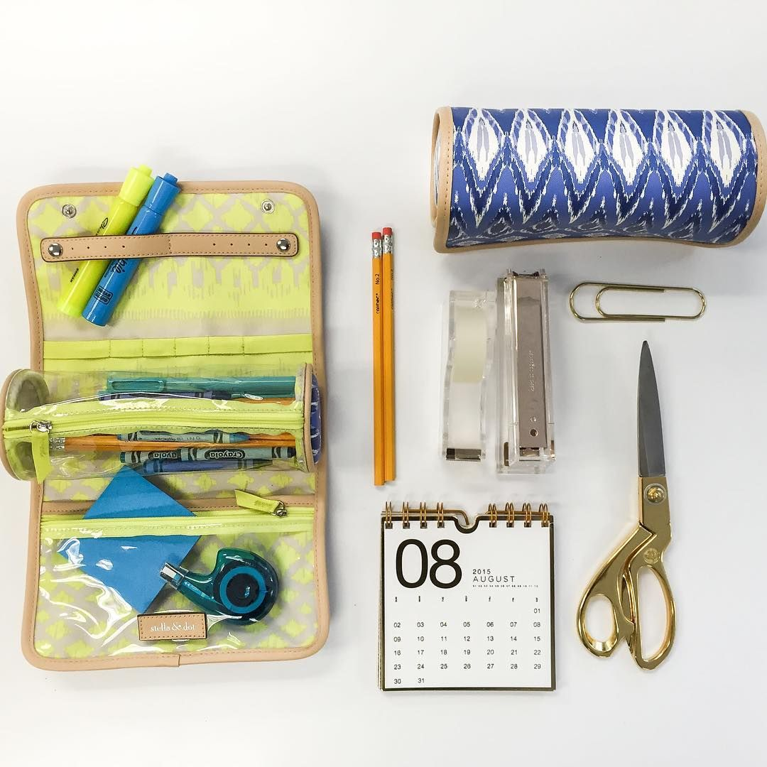 Back to school with the accessories roll Stella Dot
