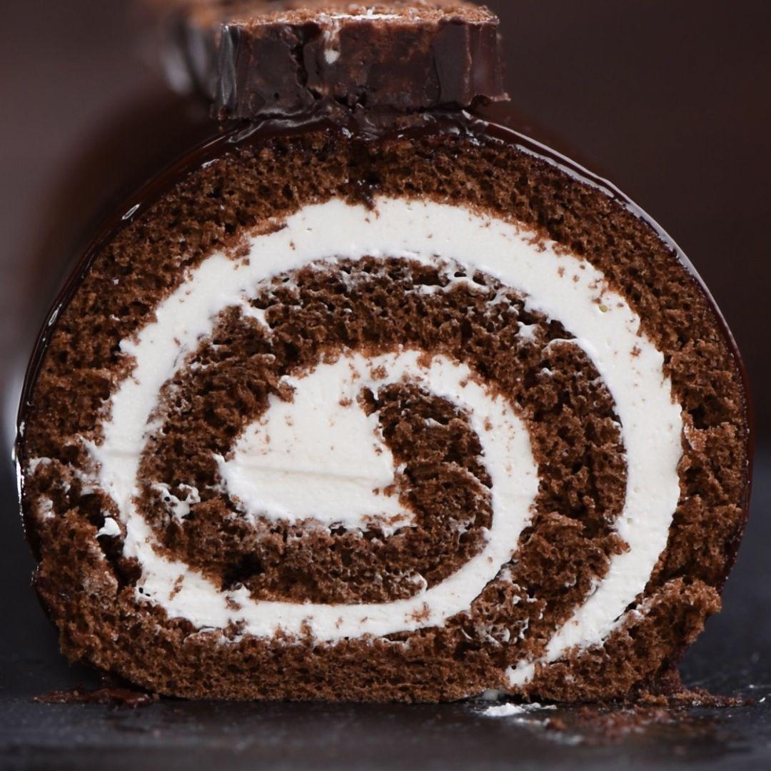 Giant Hostess Swiss Roll Cake A K A Hoho Cake