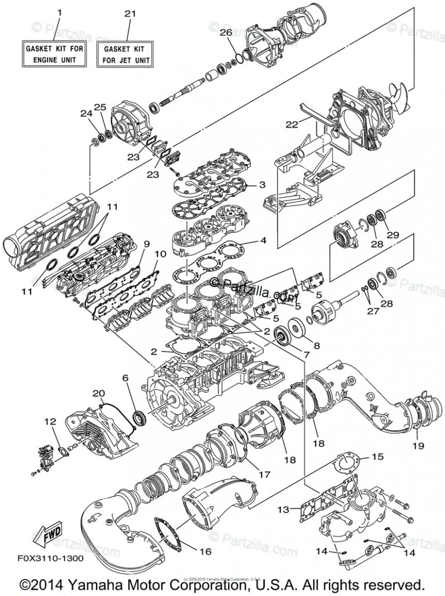 Yamaha Engine Diagram Kit Yamaha Engines Diagram Yamaha