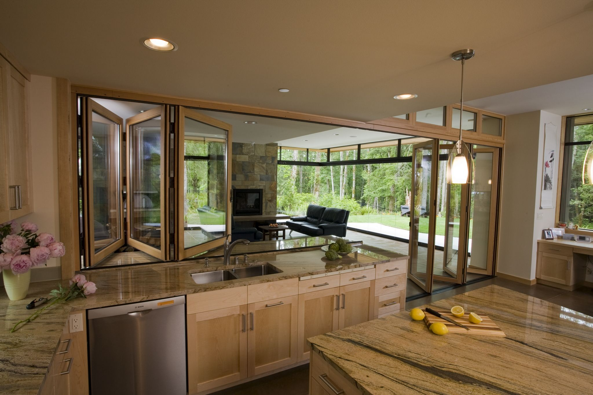 Kitchen Opens To A 4 Season Outdoor Room Home Outdoor Kitchen Design Outdoor Kitchen Appliances