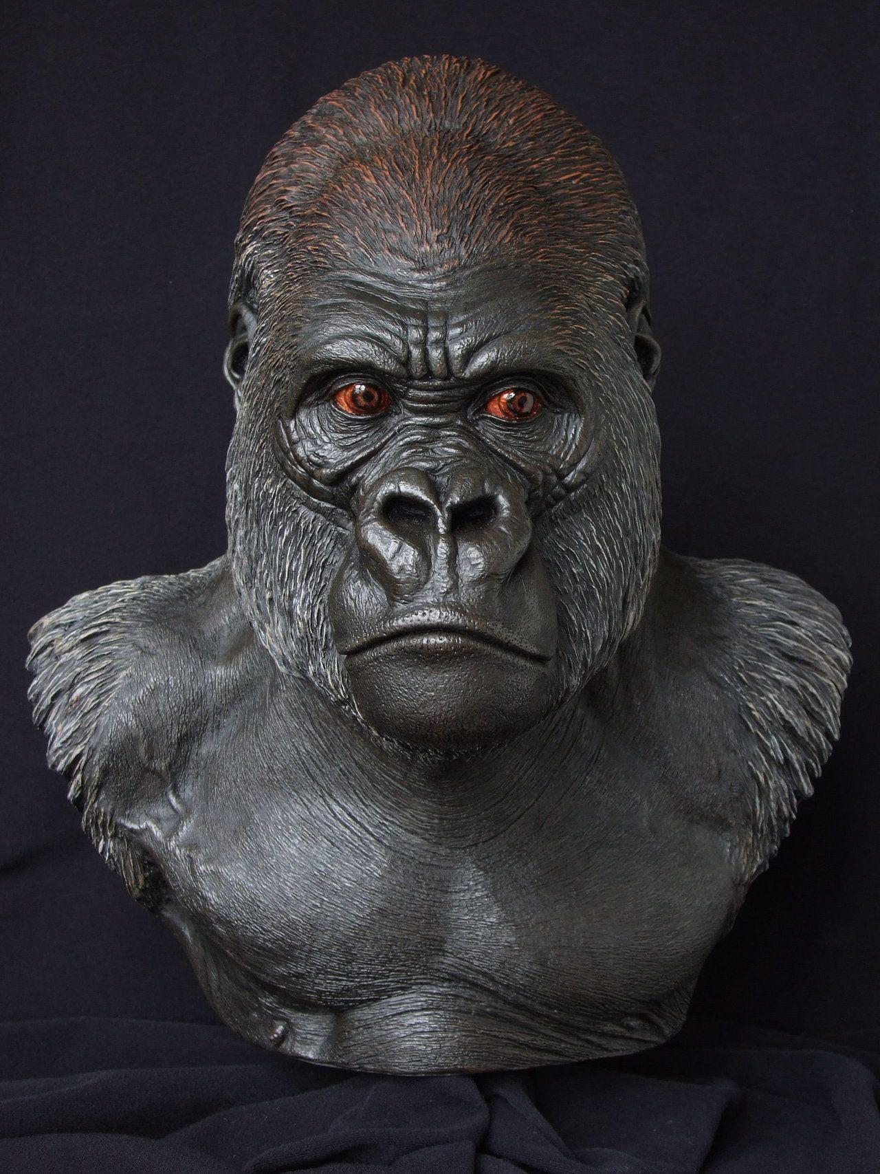 Lowland Gorilla: front view by revenant-99.deviantart.com ...
