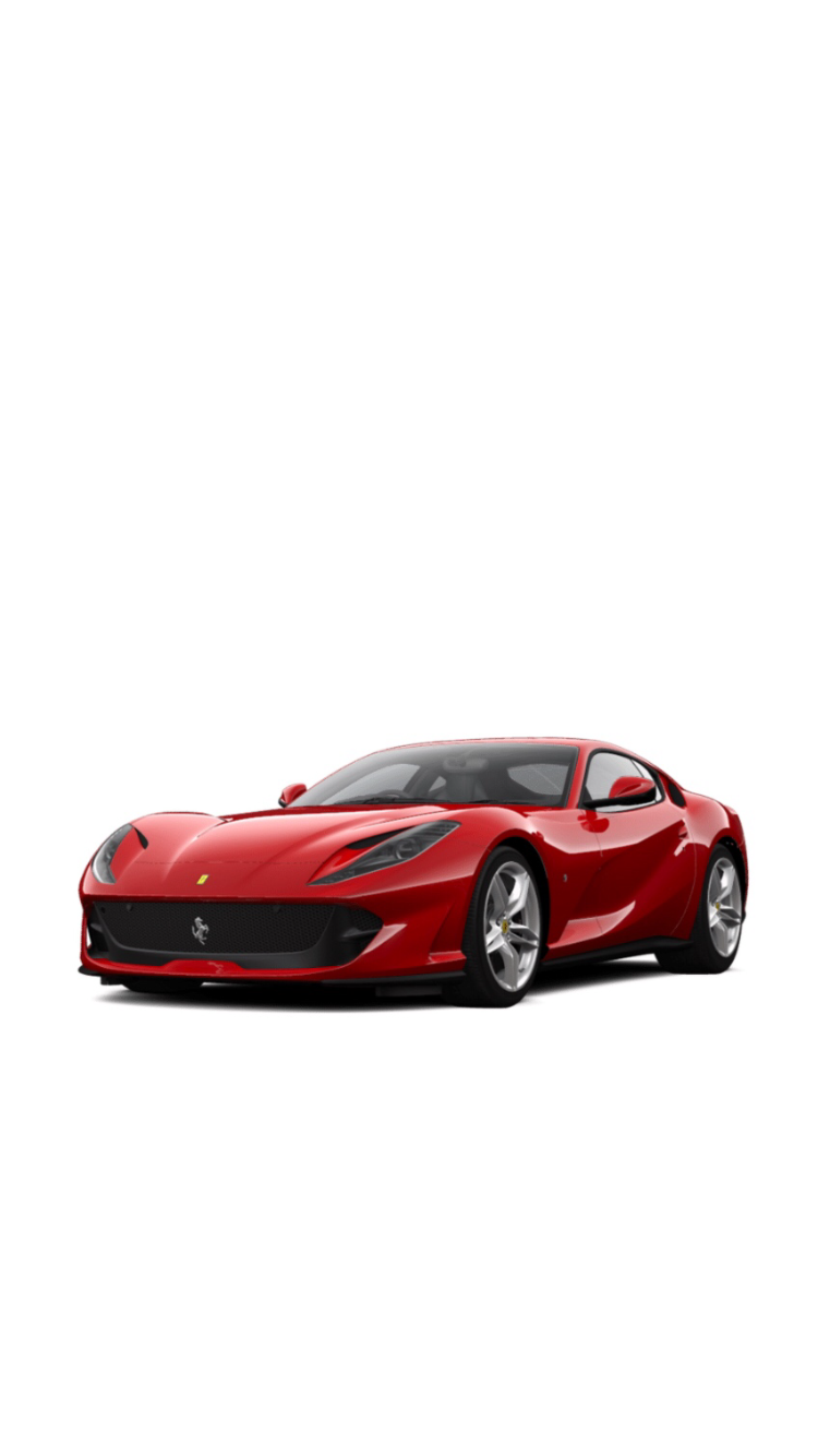 Ferrari 812 Superfast Art Cars Super Cars Ferrari