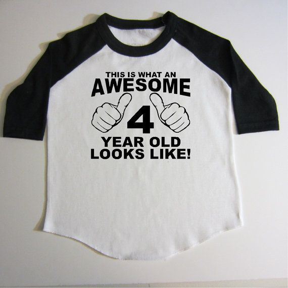 4th Birthday Shirt Four Year Old By Createmeatshirt Cute Funny Awesome Fourth 4