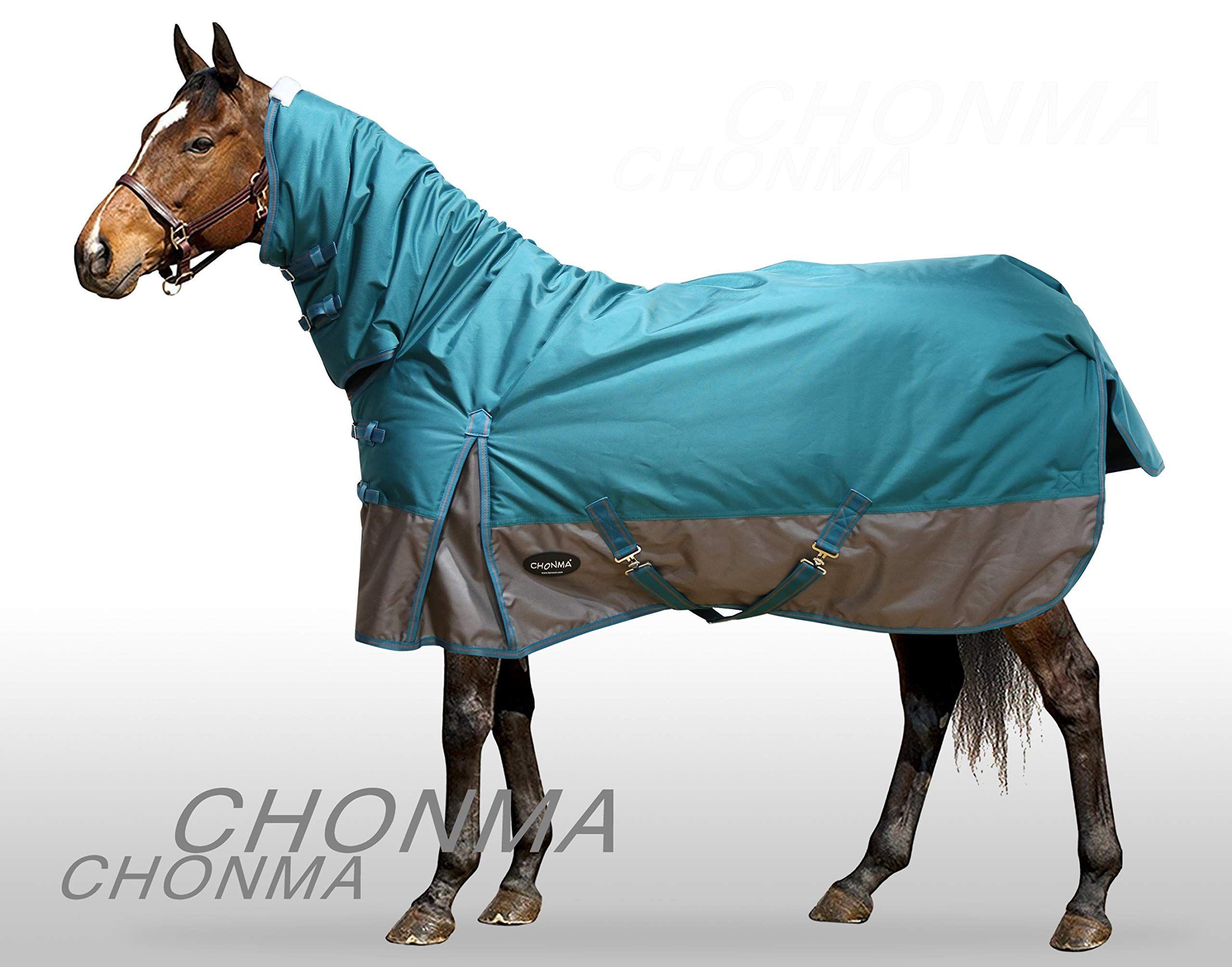 Chonma 2520d 280g Winter Waterproof Green Fixed Neck Combo