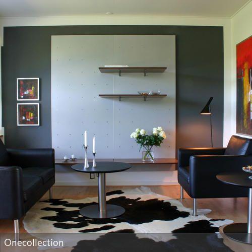 Mit Farben dem Raum optisch vertiefen - farben wohnzimmer wand