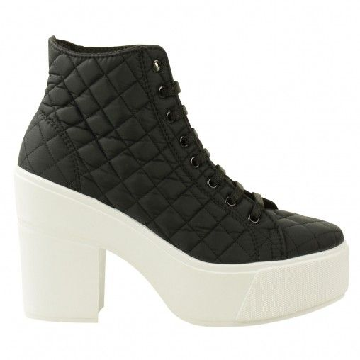 Sacha // € 59,95 #quilted #platform #sneaker