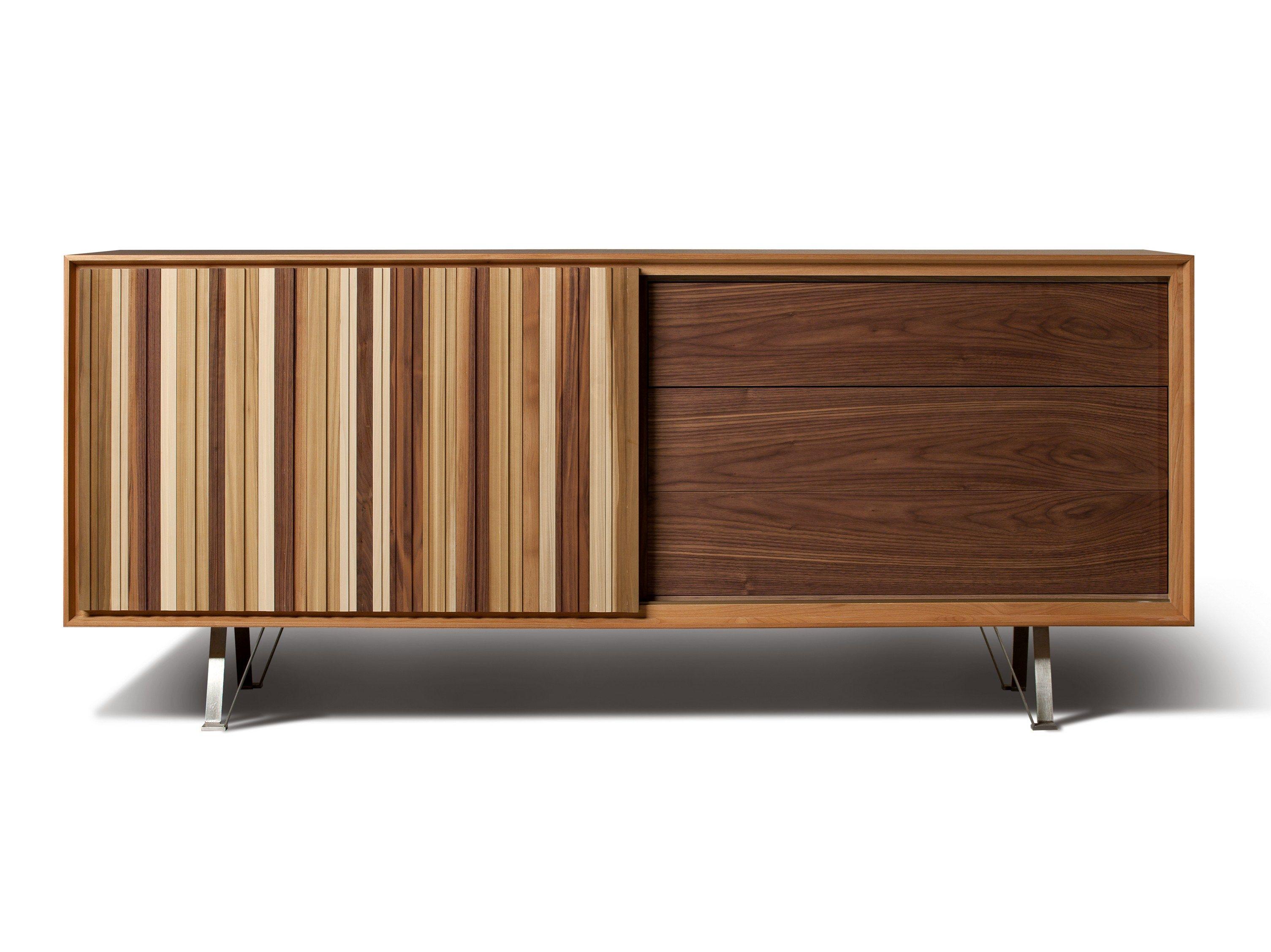 SIPARIO | Sideboard with sliding doors | Credenza, Design color ...