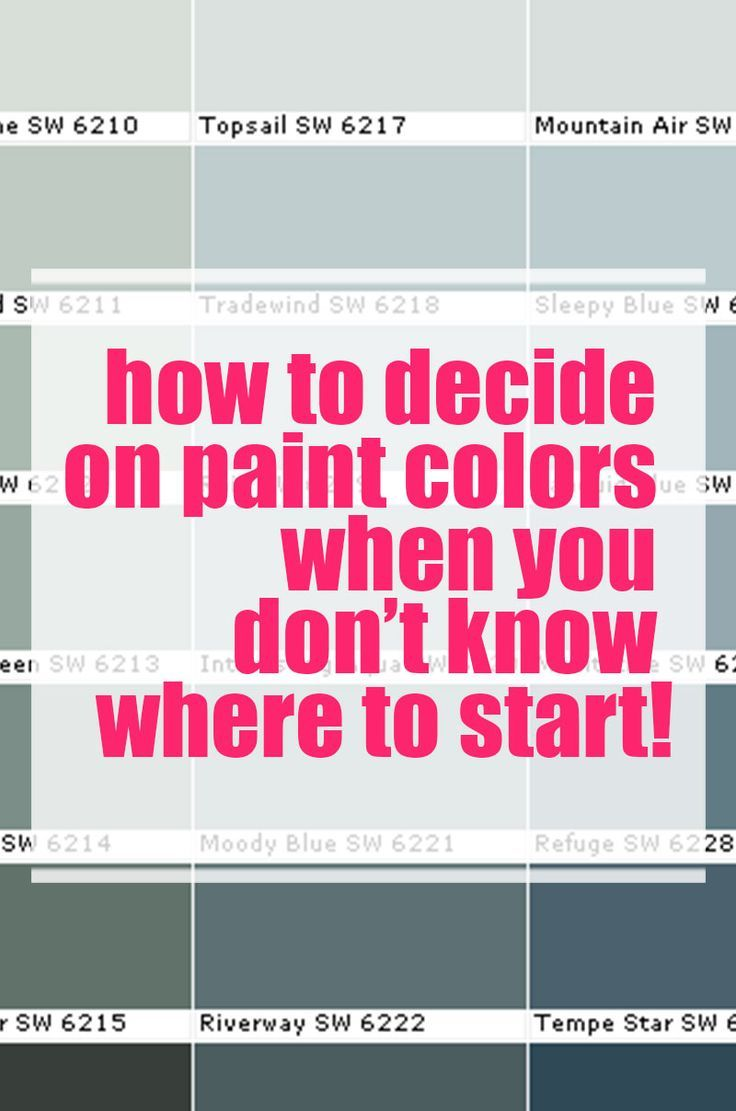The Sure Fire Way to Pick the Right Paint Color! | Paint ideas