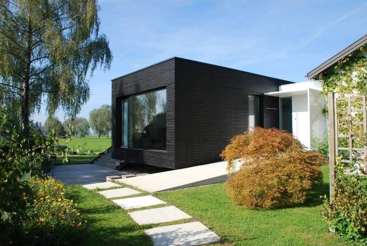 Une maison moderne préfabriquée ... où emménager dès demain ...