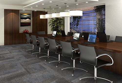 Mohawk Group - Commercial Flooring - Woven, Broadloom and Modular Carpet First One Up - Logic 7969