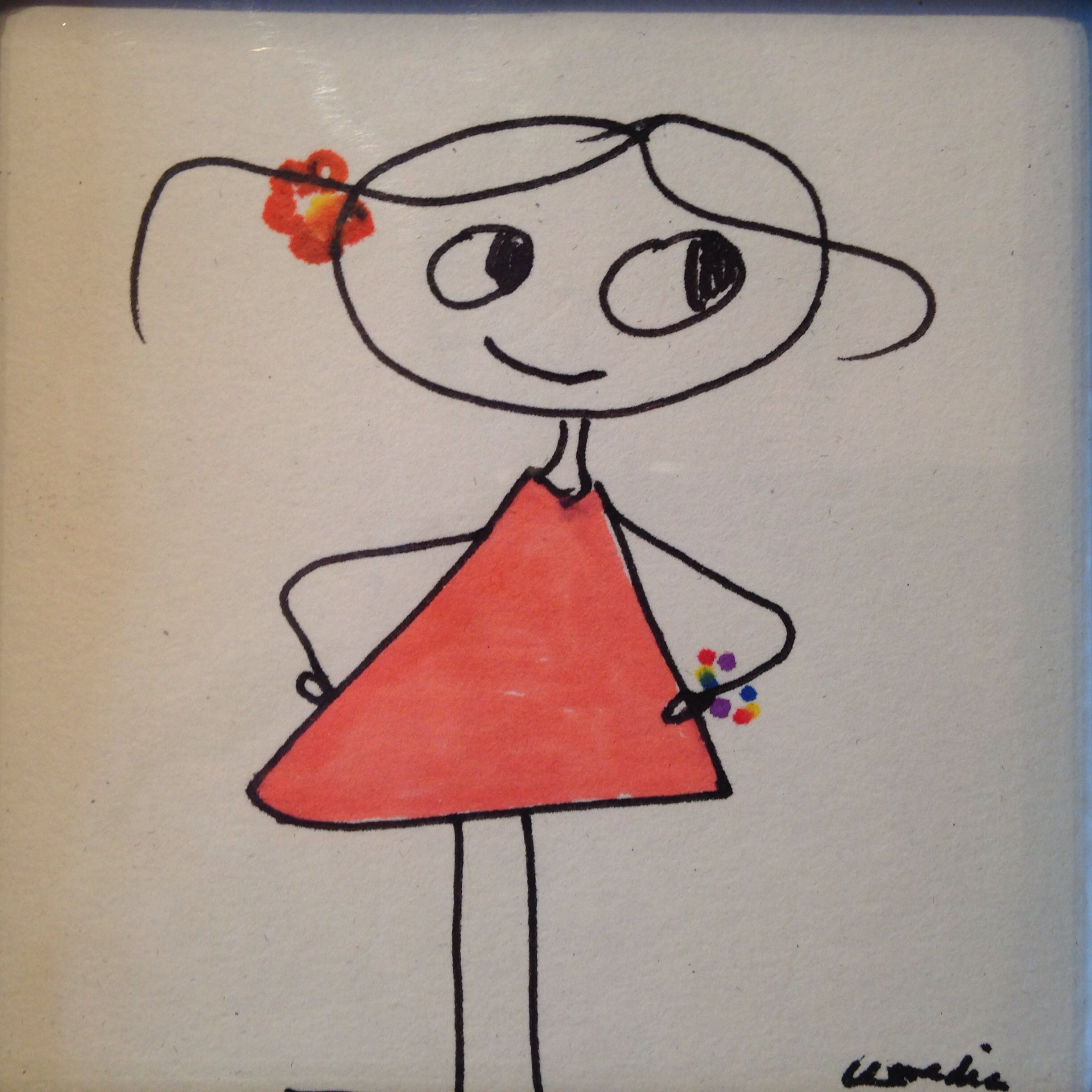 Dibujo infantil Mary Heredia