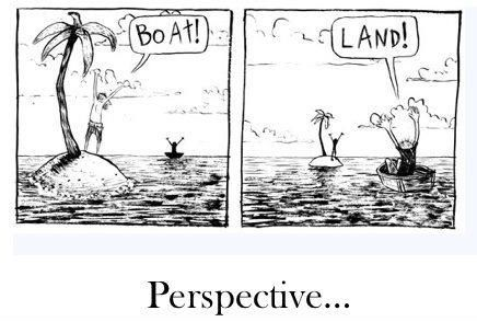A Lesson In Perspective Wanted Comic Morning Jokes Funny Comics