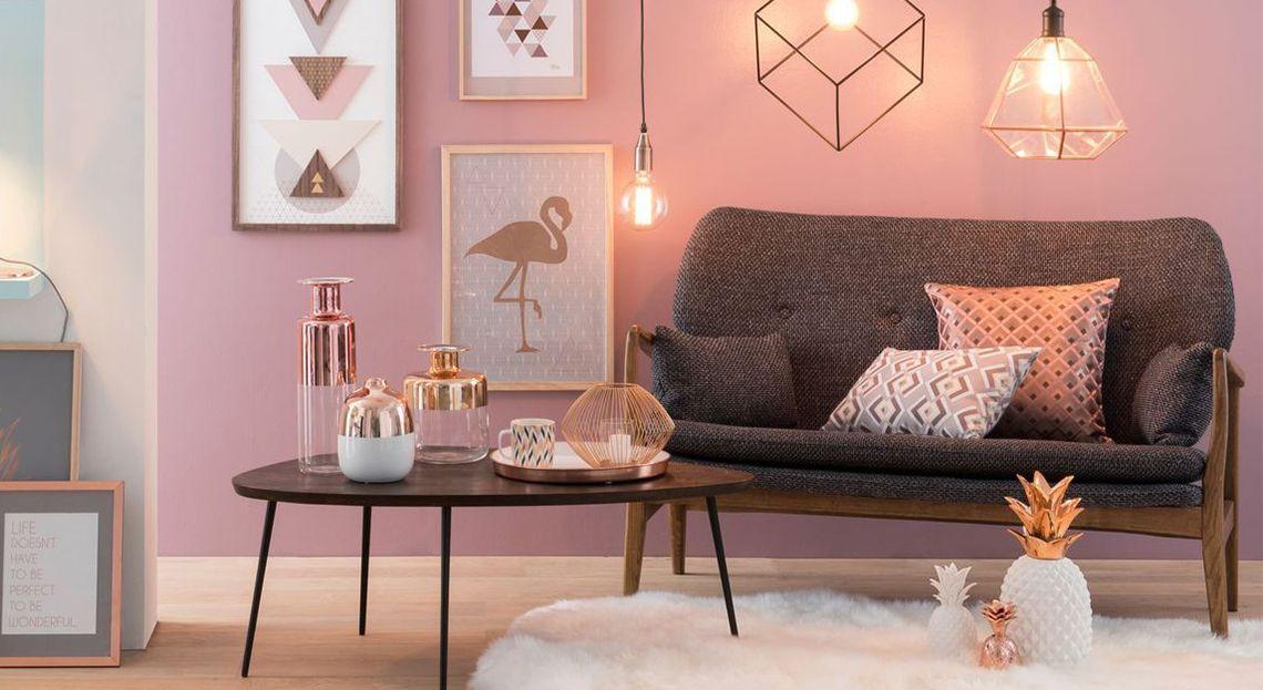 Soggiorno grigio e rosa: 15 idee per abbinare con gusto! | Grigio ...