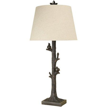 Style Craft Tree With Birds Table Lamp   Walmart.com