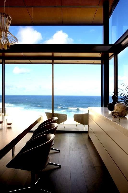 Details2 The Permanent Holiday Home With A View Over The Ocean The Bronte House In Sy Contemporary Beach House Modern Beach House Interior Architecture Design