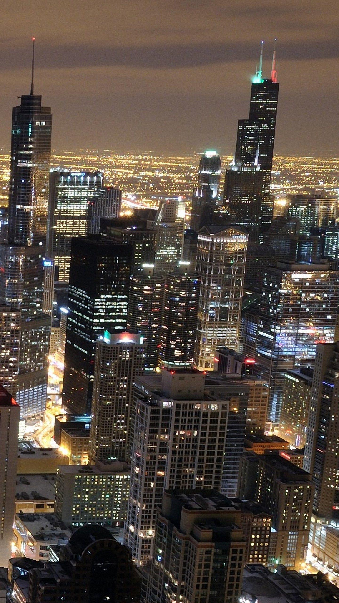 images free 1440 x 2560 ololoshenka Chicago skyline