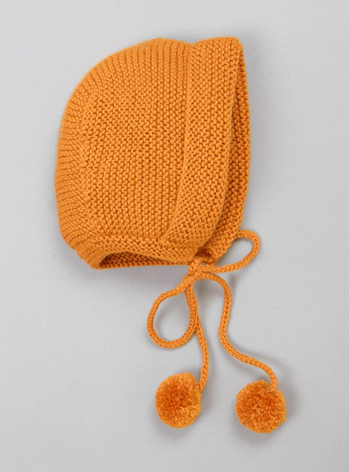 Couverture and The Garbstore - Childrens - Lilly Marthe Ebener - Pompom  Knitted Bonnet - inspiration d1748237dcb