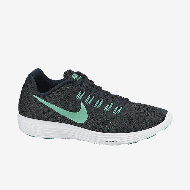 Nike Women's LunarTempo Running Shoes - Dick's Sporting Goods These are  what I want! Cute Black and White Nike tennis shoes to go with everything!