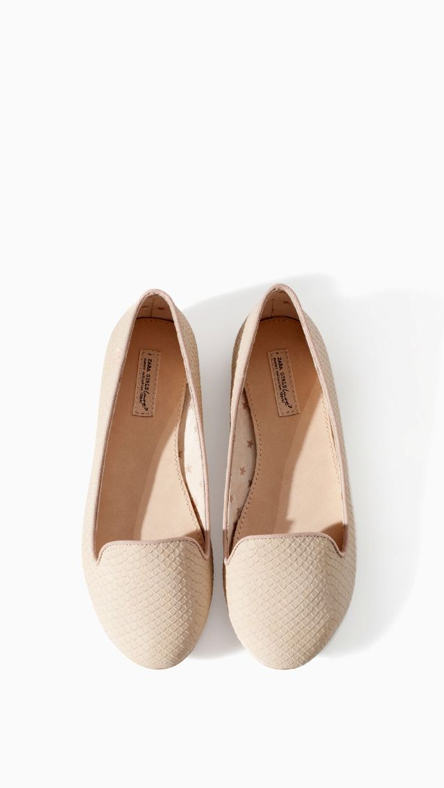 Zara Girls nude loafers / take advantage of that Zara sale y'all ;) only $19.99