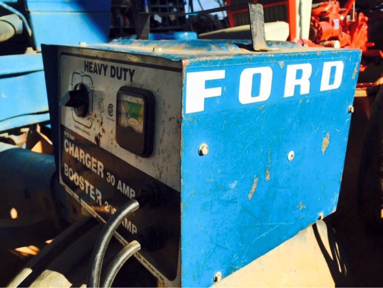 Ford Battery Charger Booster
