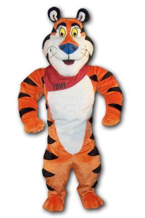 Tony the Tiger mascot costume  sc 1 st  Pinterest & Tony the Tiger mascot costume | Mascot Costumes | Pinterest | Mascot ...