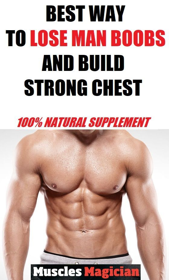 Supplements for man boobs