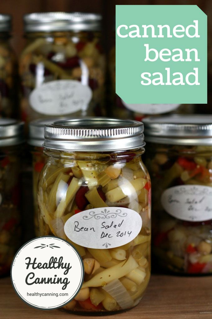 Four Bean Salad Healthy Canning Recipe Bean Salad Four Bean Salad 3 Bean Salad