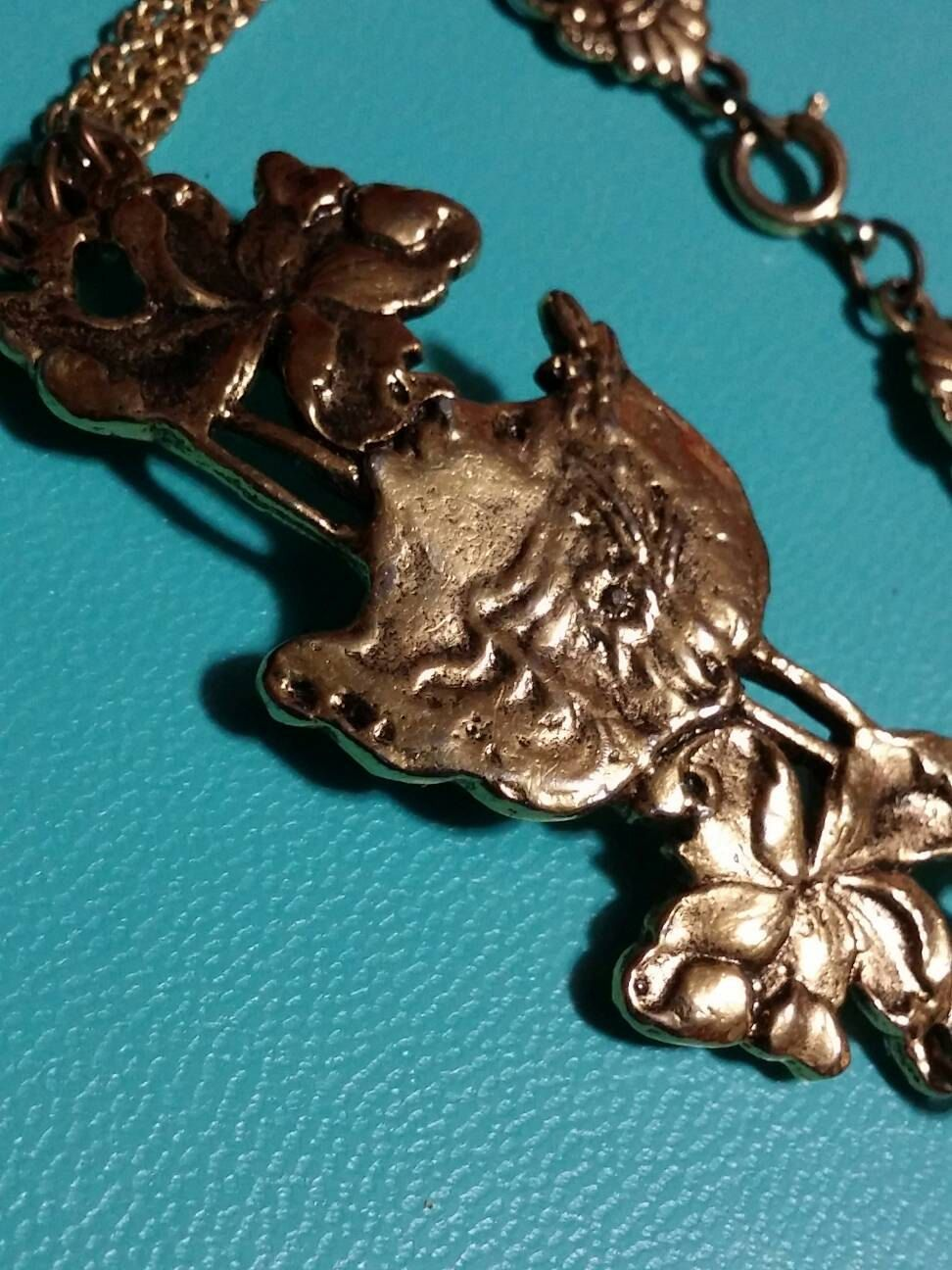 Art Nouveau bracelet Gold Tone Girl art nouveau bracelet lady pretty bracelet gold tone decorative vintage find i want one love this bracelet one for collection hi pretty lady classy bracelet 5.99 USD #goriani