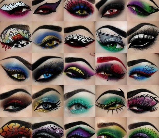 Creative eye makeup by Nataly Cruz @Luuux | Eye Makeup | Pinterest ...