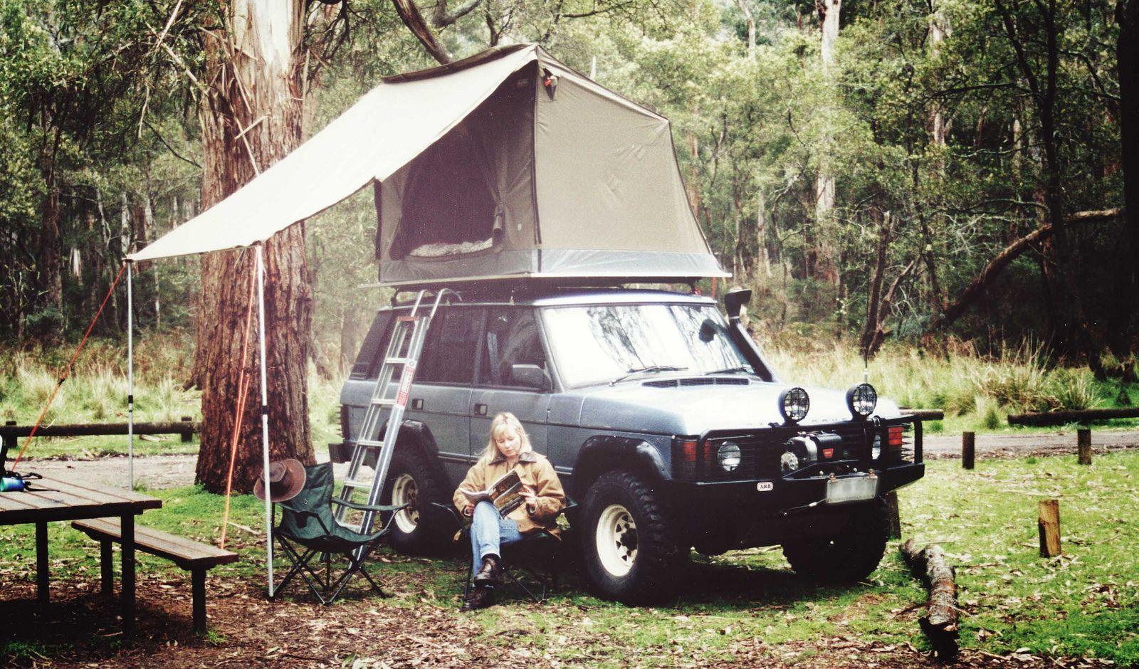 Oztent Rv 1 Roof Rack Happy Camper Trailer Tent Roof Rack