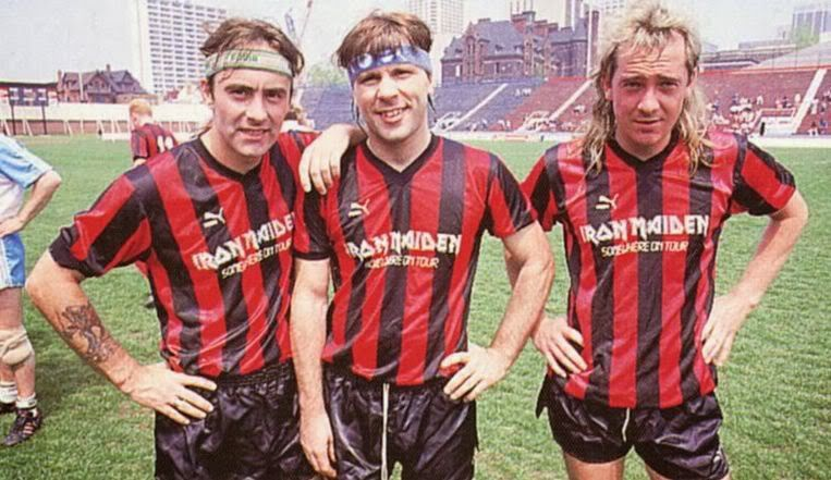 Iron Maiden soccer